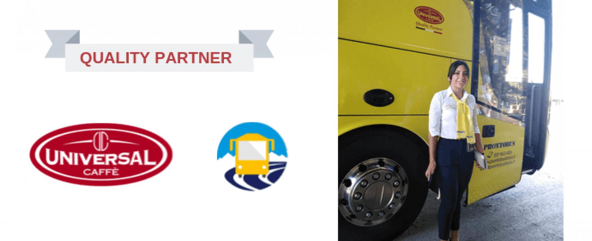 "Universal Caffè e Prontobus ""quality partner"" on the road"