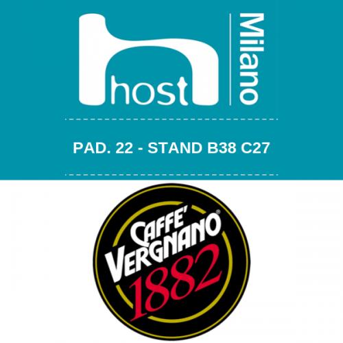 Caffè Vergnano a HOST con le nuove compatibili compostabili