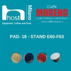 HOST 2019. Caffè Moreno e la tradizione napoletana dell'espresso