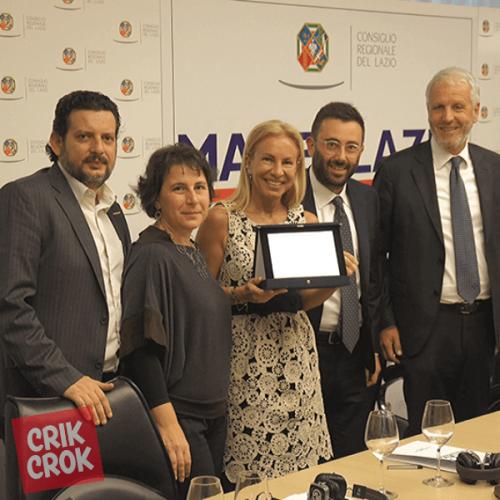 """Crik Crok compie 70 anni e riceve il premio """"Made in Lazio"""""""