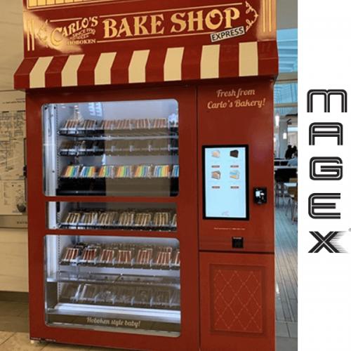 """Il """"Boss delle Torte"""" sceglie Magex per la sua cake vending machine"""