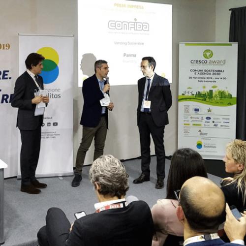 CONFIDA premia il Comune di Parma per il progetto RiVending