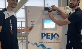 Acqua Pejo installa un ecocompattatore per la plastica al Palatrento