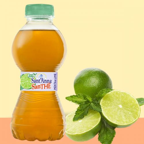 Menta e Lime, il nuovo gusto del thè SanTHE' Benessere Sant'Anna