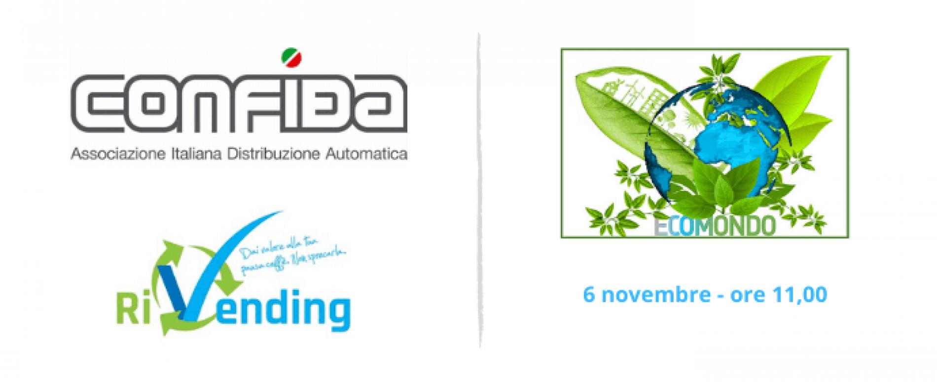 CONFIDA presenta il progetto RiVending a Ecomondo 2019