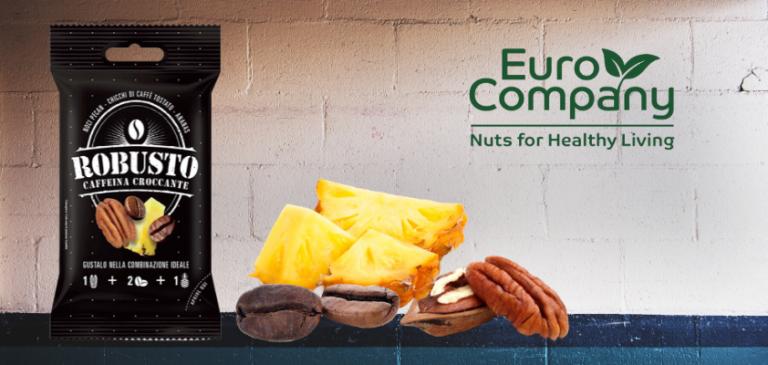 """Robusto, il nuovo snack al caffè """"etico"""" di Euro Company"""