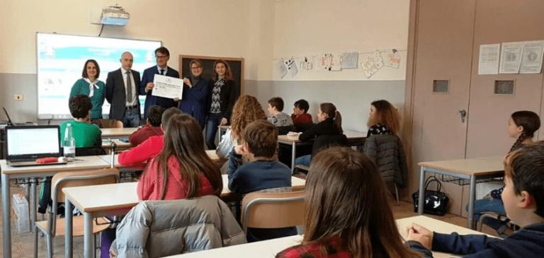 New Factor sostiene l'Istituto Comprensivo n. 8 di Forlì