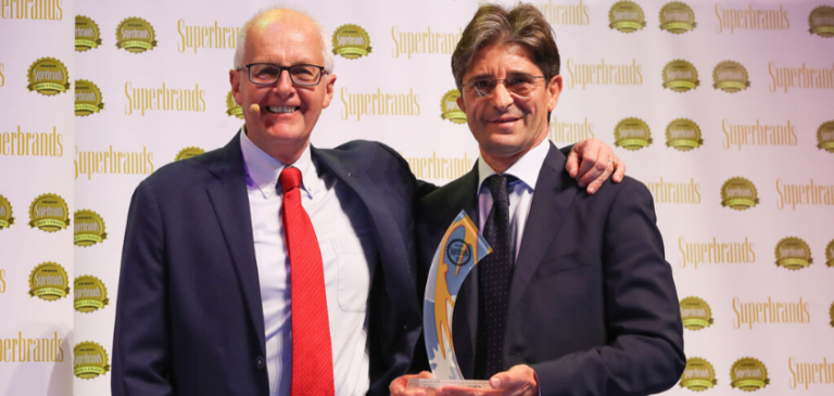 A San Benedetto il Superbrands Award for Authenticity 2019