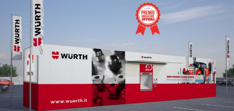 Premio Innovazione SMAU 2019 al negozio automatico di Würth Italia