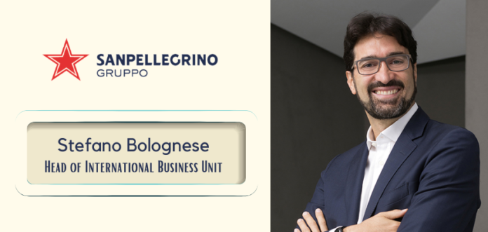 Sanpellegrino nomina Stefano Bolognese Head of International Business Unit del Gruppo